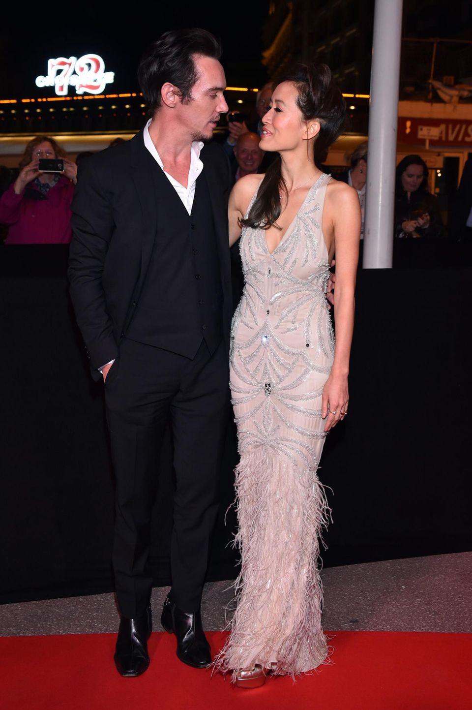 Jonathan Rhys Meyers + Mara Lane