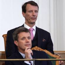 Prinz Frederik + Prinz Joachim
