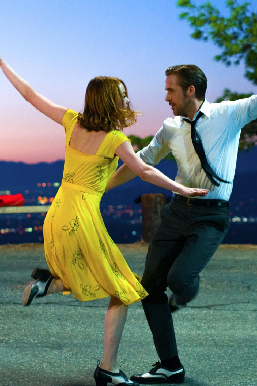 """Flirty Dancing: Emma Stone und Ryan Gosling in einer """"La La Land""""-Szene (Filmstart: 12. Januar)"""