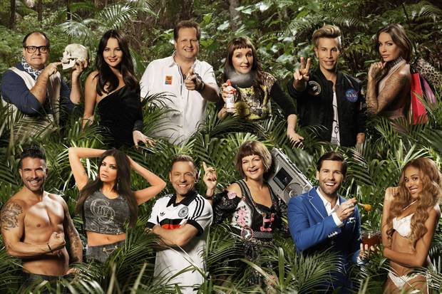 Die Dschungelcampteilnehmer 2017