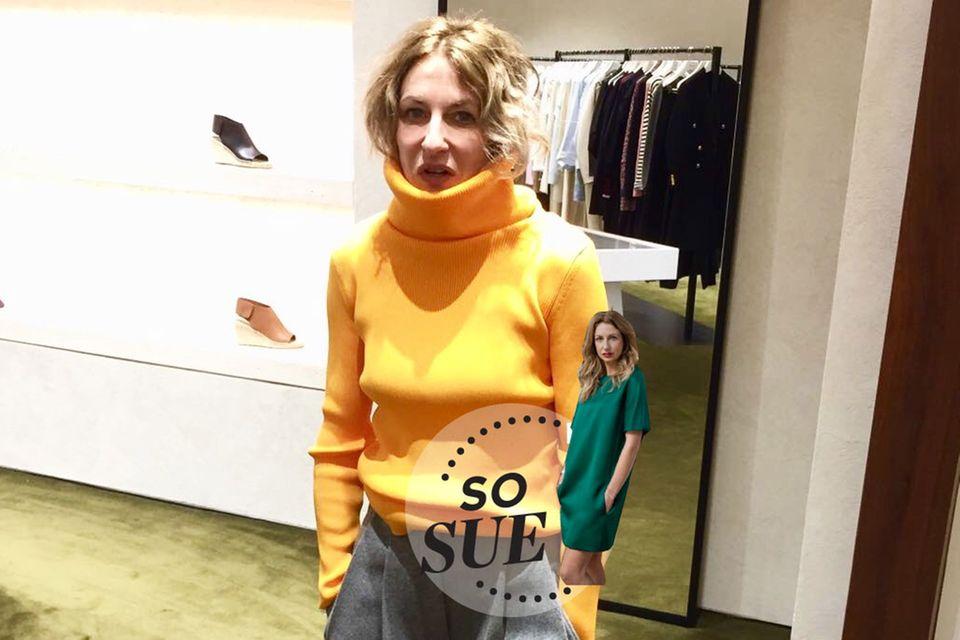 So Sue - Sale-Wahnsinn in New York
