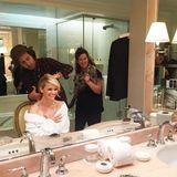 Reese Witherspoon zeigt ihren Countdown zu den Golden Globes.
