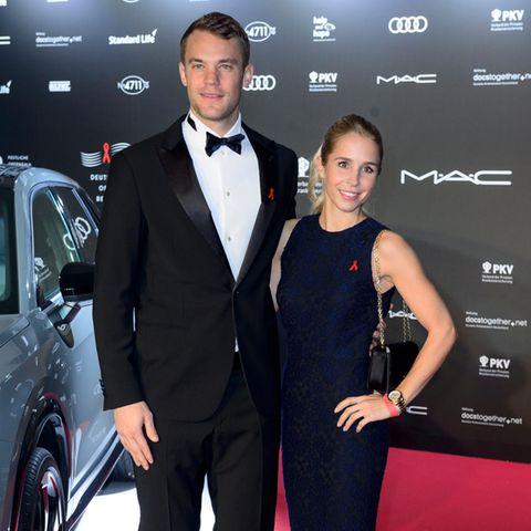 Manuel Neuer + Nina Weiss