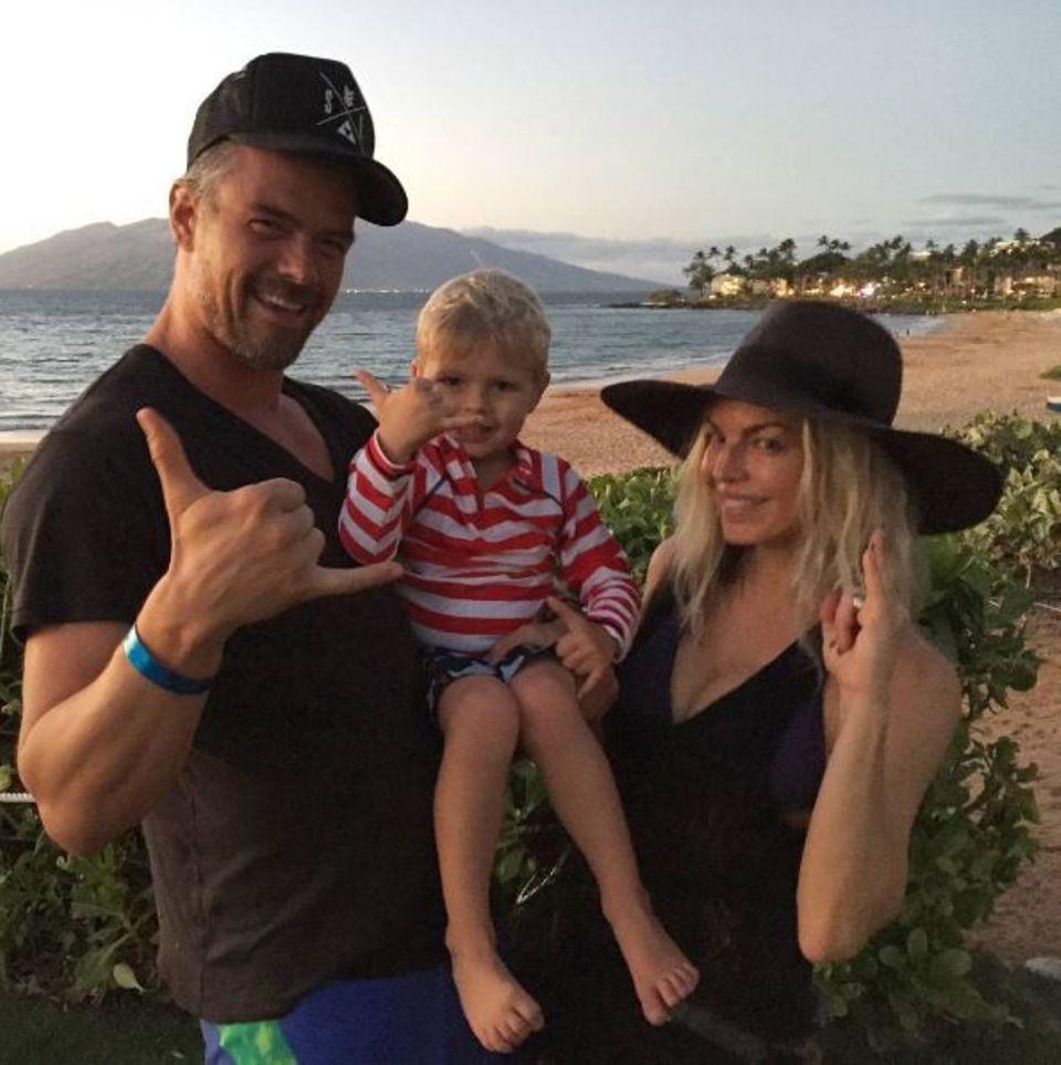 """11. Januar 2017   Acht Jahre sind Josh Duhamel und Fergie bereits verheiratet. Zum Jubiläum postet Josh dieses Fot mit den Worten: """"Acht Jahre, liebe dich Baby."""""""