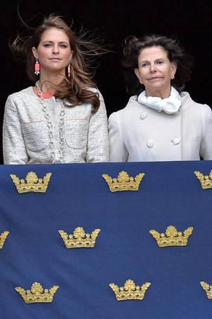 Prinzessin Madeleine + Königin Silvia