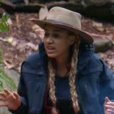 Sarah Joelle ist auf Krawall gebürstet. Mit Markus Majowski streitet sie sich um eine nasse Matratze und mit Gina-Lisa um die Essenszubereitung.