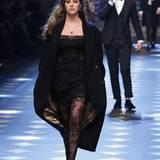 Auch Sophia Stallone, die Tochter von Sylvester Stallone, lief zur Musik von Pop-Sänger Austin Mahone.