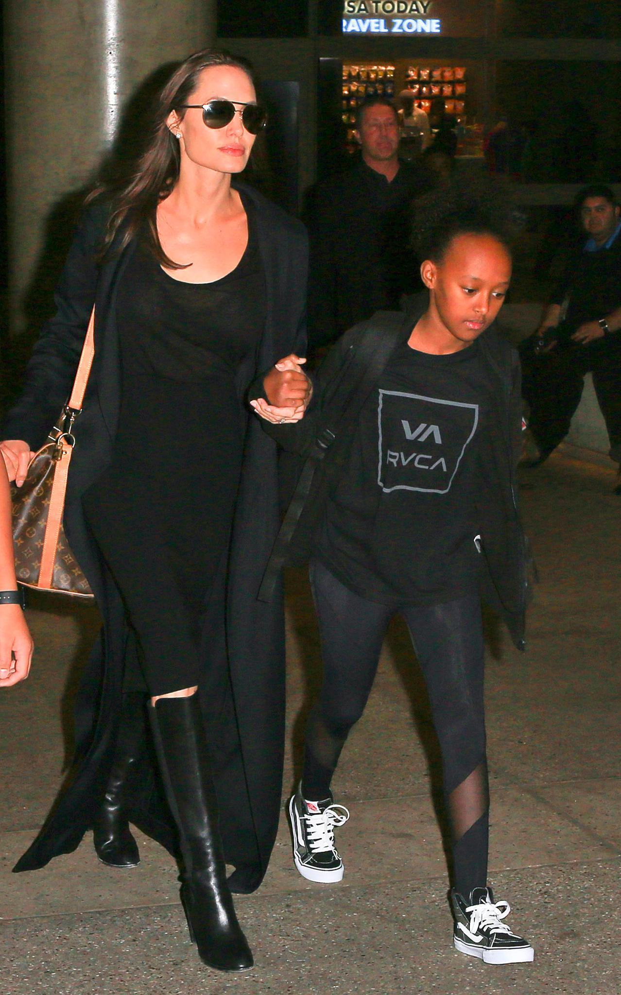 Angelina Jolie, Zahara Jolie-Pitt
