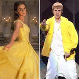 Eigentlich könnten sie unterschiedlicher nicht sein - Was haben Emma Watson und Justin Bieber bloß gemeinsam?