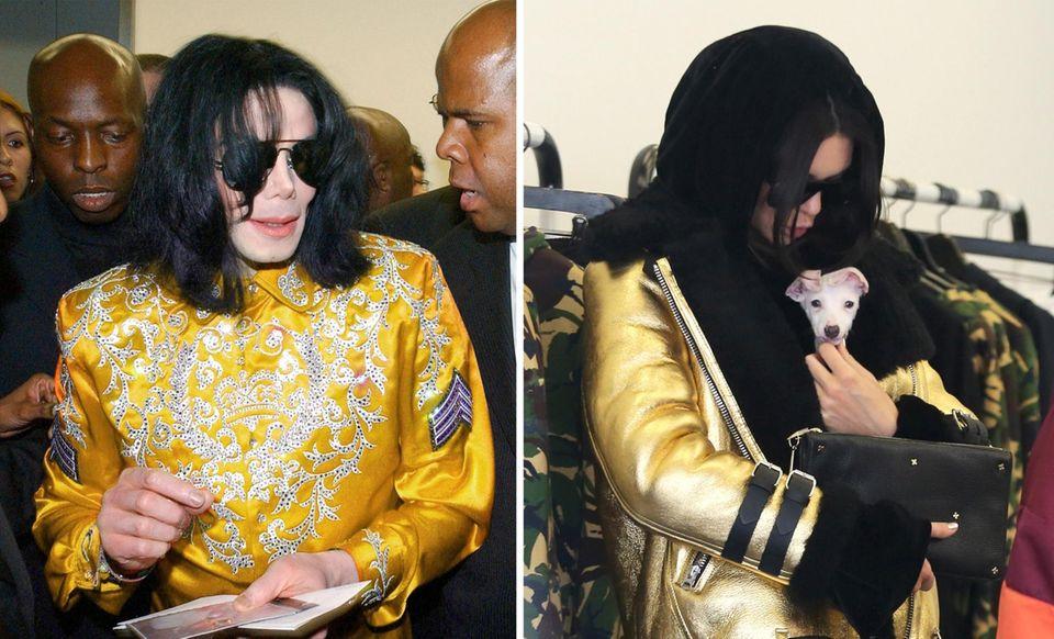 "Das ""Victorias Secret""-Model erinnert an keinen geringeren als den verstorbenen Popkönig Michael Jackson."