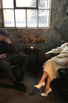 Auch Mama Victoria Beckham schnappt sich ihren Ältesten für ein cooles Porträt.