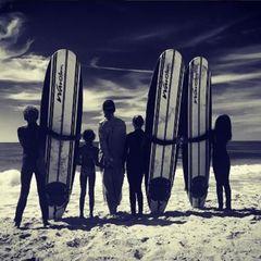 24. Juli 2016 - Kalifornien  Urlaub zuhause geht wunderbar, wenn man Sonntags einfach mal surfen gehen kann mit der ganzen Familie.