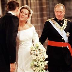4. Oktober 1997  Iñaki Urdangarin und Prinzessin Cristina von Spanien