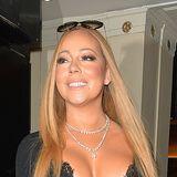 Mariah Carey zeigt offensichtlich gerne was sie hat. Ihr Kleid scheint im Brustbereich zwar ein wenig knapp zu sein aber dafür trägt die Pop-Diva darunter glücklicherweise verführerische Spitzen-Unterwäsche - Lagenlook à la Mariah.