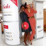 Choreografin Nikeata Thompson und Moderatorin Annabelle Mandeng in der GALA Fotobox.