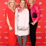 Astrid Bleeker, Brand Solutions Director GALA, (Styling von La Biosthétique) mit Martina Buckenmaier und Katja Rechner von Riani