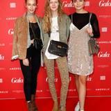 """Blogger unter sich: Melanie (""""Searching Magic""""), Marie von Behrens and Sofia Tsakiridou (""""Matiamu"""") sind ebenfalls im Hotel Ellington dabei."""