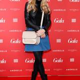Jenny Elvers ist auf der Fashion Week ein gern gesehener Gast.