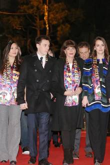 Marie Hoa Chevallier, Louis Ducruet, Stéphanie von Monaco, Pauline Ducruet, Fürst Albert