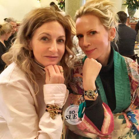 Sue Giers + Tamara Gräfin von Nayhauß