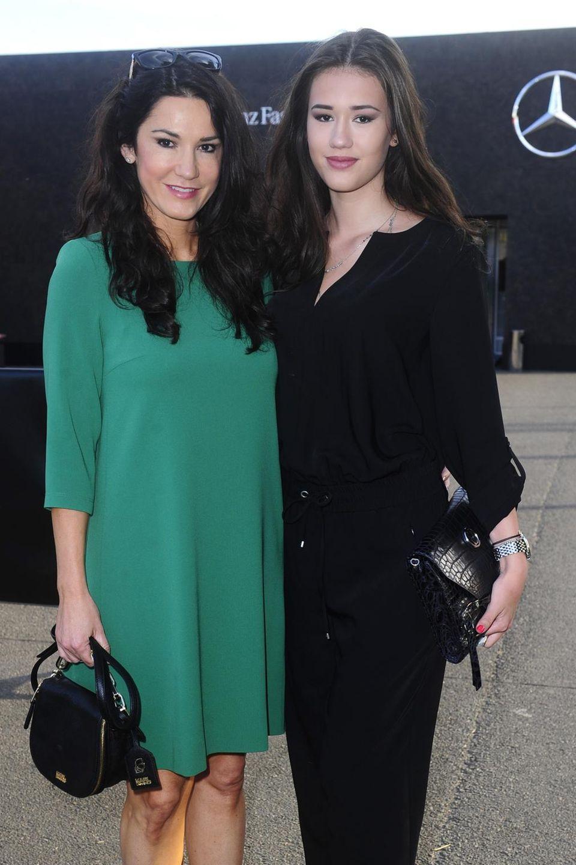 Der Apfel fällt nicht weit vom Stamm: Mariella Ahrens und ihre schöne Tochter Isabella