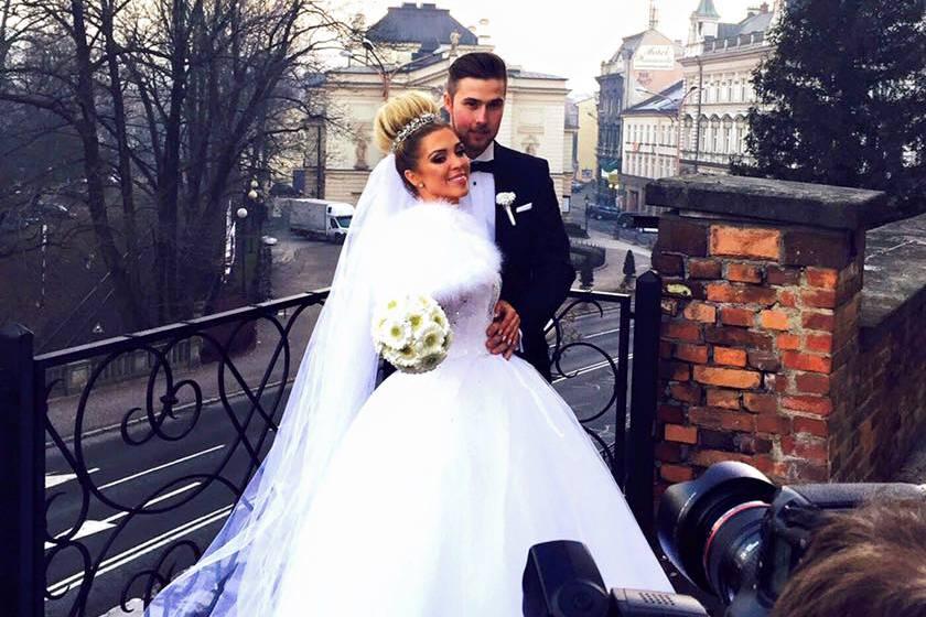 Aneta Sablik und Ehemann Kevin Zuber.