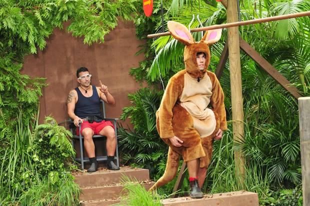 Marc Terenzi und Honey in der Dschungelprüfung