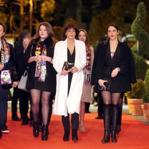 Prinzessin Stéphanie von Monaco mit ihren Töchtern Camille und Pauline