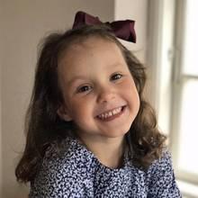 24. Januar 2017  Herzlichen Glückwunsch zum Geburtstag, Athena! Die kleine Prinzessin wird fünf Jahre alt.