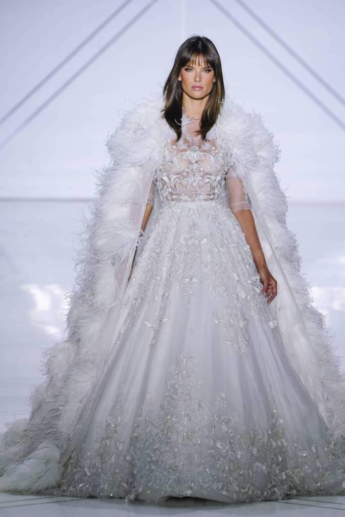 Alessandra Ambrosio bei der Brautmodenschau