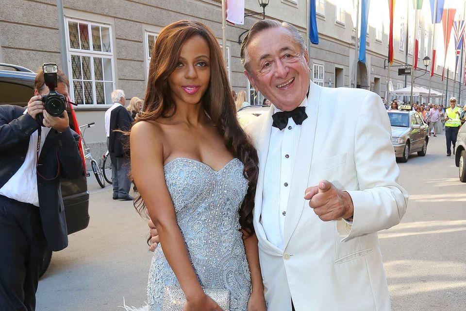 Bahati Venus + Richard Lugner