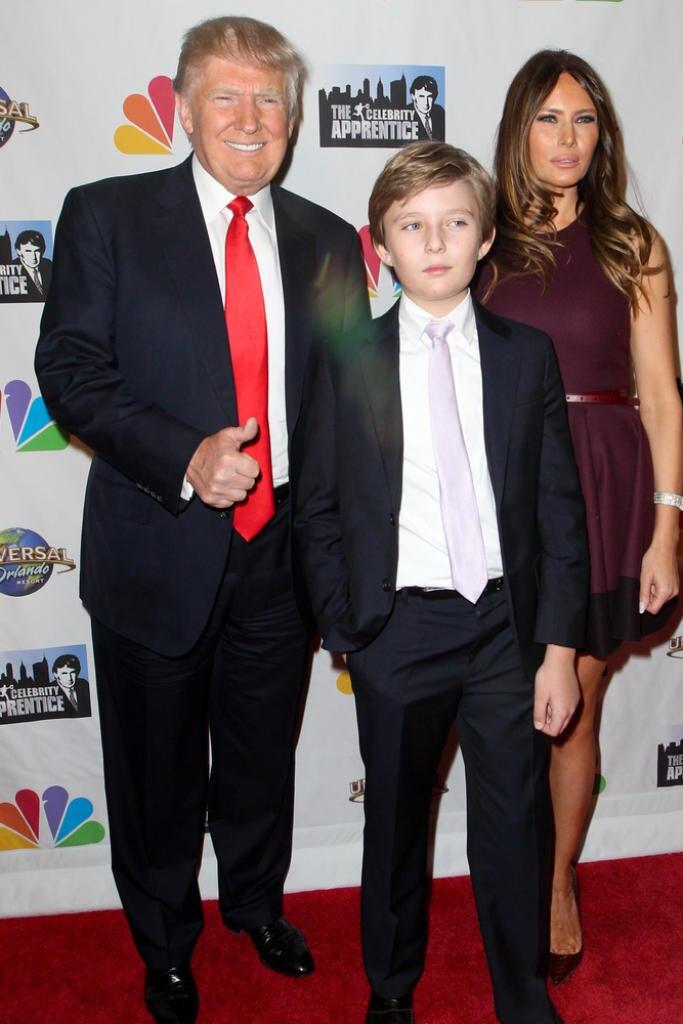 Die Familie Trump steht unter Dauerbeschuss