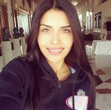 Kristal Silva braucht bei diesem Lächeln eigentlich gar kein Make-up. Strahlend schön ist sie auch so.