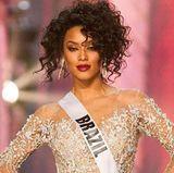 """""""Miss Brazil"""",Santana Raissa, setzt bei dem Wettbewerb auf den Diva-Style."""