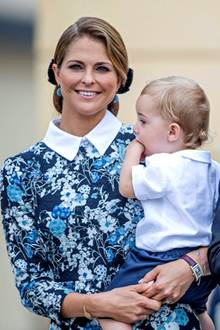 Prinzessin Madeleine, Chris O'Neill, Prinz Nicolas + Prinzessin Leonore