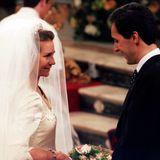1995 heiratet Prinzessin Elena, die älteste Schwester von König Felipe von Spanien, Jaime de Marichalar.