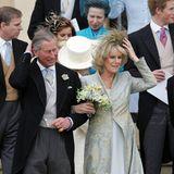 Am 9. April 2005 heiraten Camilla Parker-Bowles und Prinz Charles standesamtlich im Rathaus von Windsor. Eine kirchliche Trauung erfolgte nicht. In einer Kapelle von Schloss Windsor wird das Paar gesegnet.  Zu den Gästen bei der Trauung gehörten, neben Queen Elizabeth und Prinz Philip und der engsten Familie, natürlich auch Prinz Charles' Söhne William und Harry (im Bild rechts).