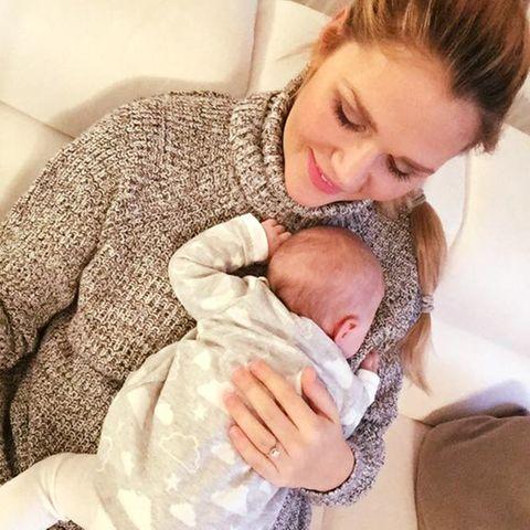Sara Kulka mit Baby Annabell