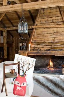 Romantisches Berghütten-Feeling