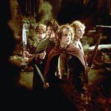 """Herr der Ringe  """"Ein Ring - sie zu knechten, sie alle zu finden, ins Dunkel zu treiben und ewig zu binden."""" Um Mittelerde zu retten gehen die """"Gefährten"""" auf ungewisse Abenteuer und fesseln auf Jahre die Kinogemeinde. Die Trilogie wurde auf drei Jahre aufgeteilt und ging pro Episode über drei Stunden."""