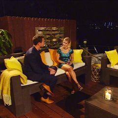 1. Februar 2017  Sebastian bittet Sabrina um das erste Gespräch des Abends.