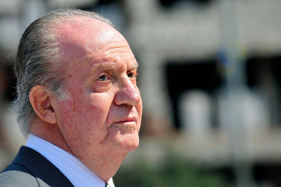 Juan Carlos wird immer wieder mit seinen Fehltritten konfrontiert