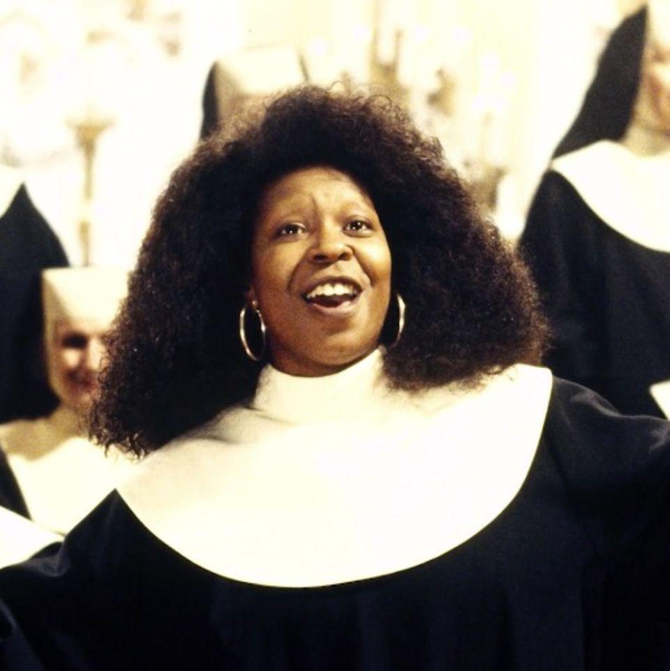 Whoopi Goldberg und ihre Klosterschwestern