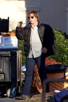 """Tom Cruise scheint ganz schön zugelegt zu haben. Während der Dreharbeiten zum Film """"American Made"""" überraschte der sonst immer durchtrainierte Schauspieler mit kaum zu übersehender Fülle. Was man nicht alles für begehrte Rollen tut."""