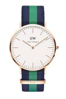 Bestzeit: Uhr mit Sportstreifen-Armband von Daniel Wellington