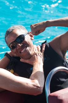 Barack Obama, Richard Branson