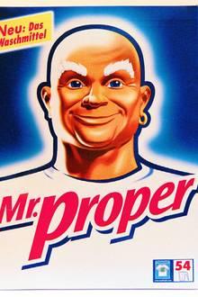 """Das alte """"Meister Proper""""-Logo."""