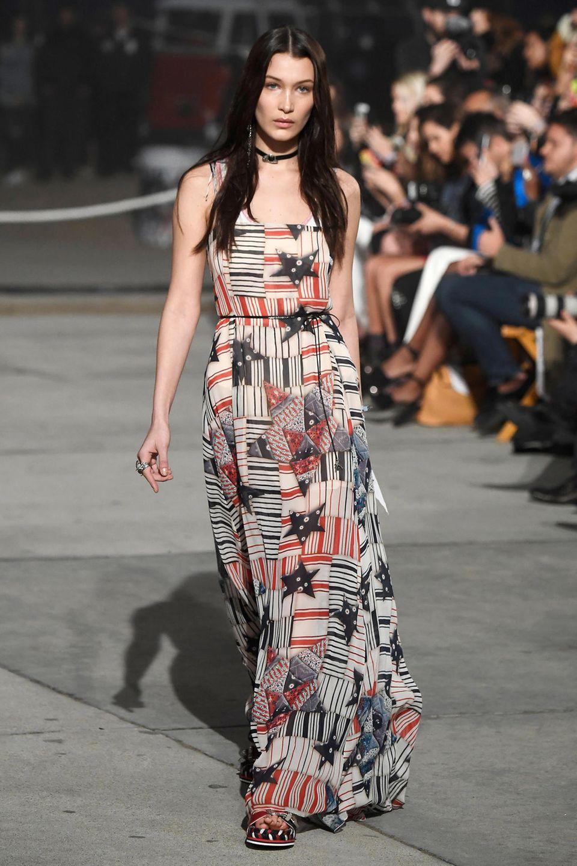 Bella Hadid für Tommyland - Tommy Hilfiger Frühjahr 2017