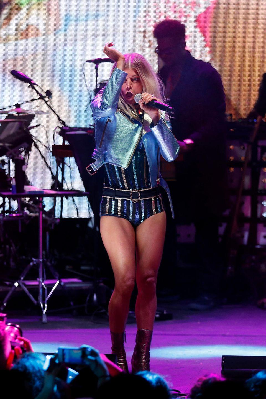 Fergie sorgt musikalisch für die perfekte Stimmung
