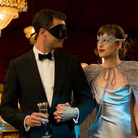 """Jamie Dornan, Dakota Johnson in """"50 Shades of Grey - Gefährliche Liebe"""""""